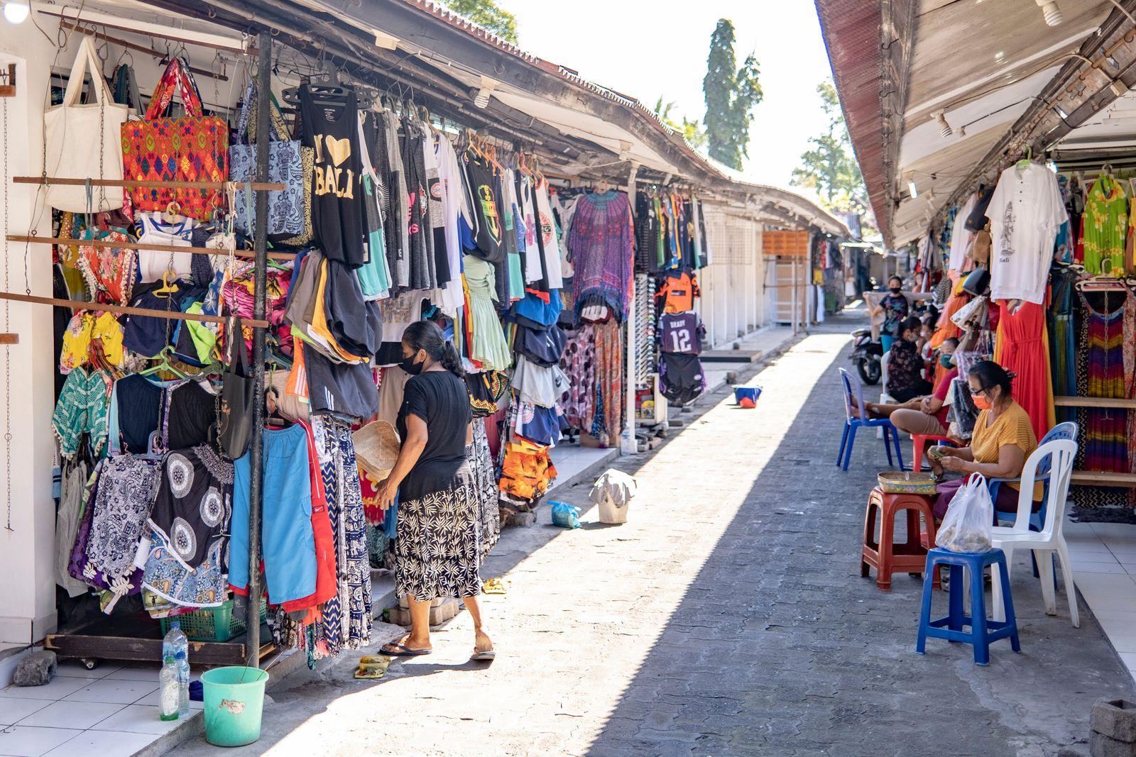 Tourism amid coronavirus pandemic in Bali, Denpasar, Indonesia - 25 Aug 2020
