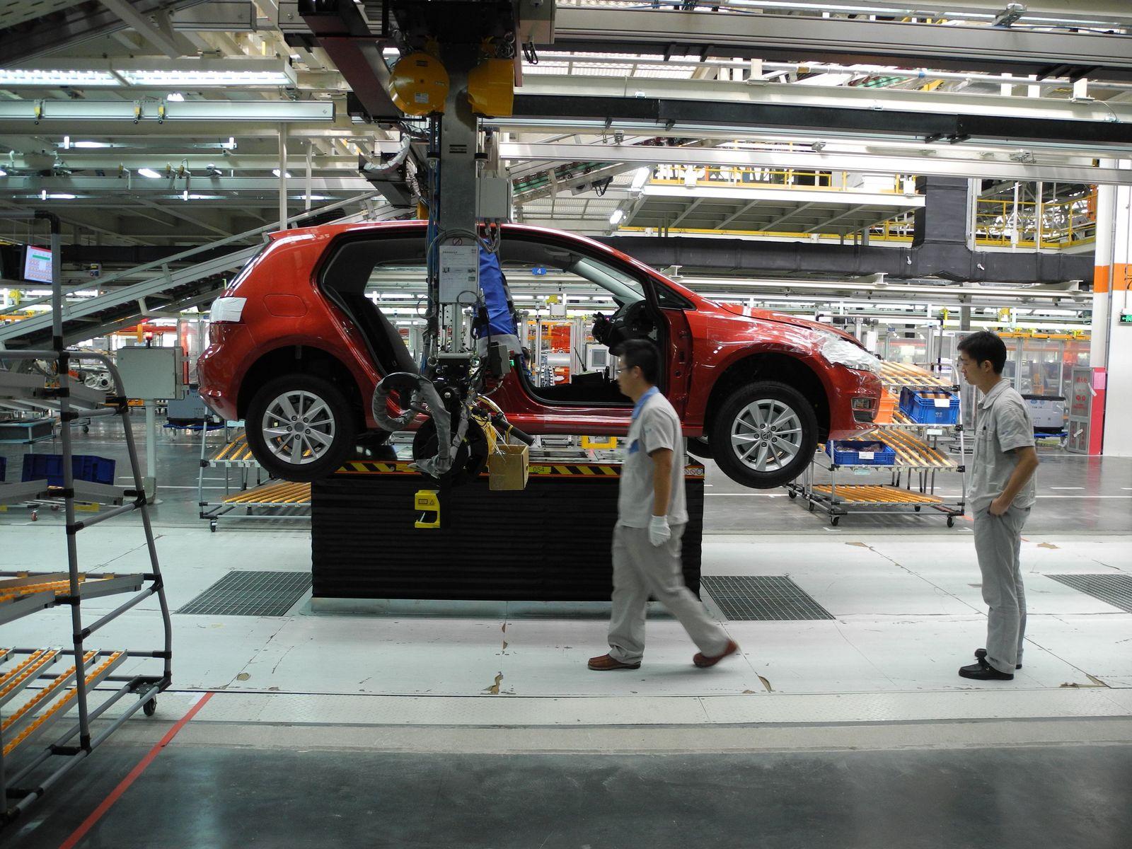 VW-Werk / China / Guangdong