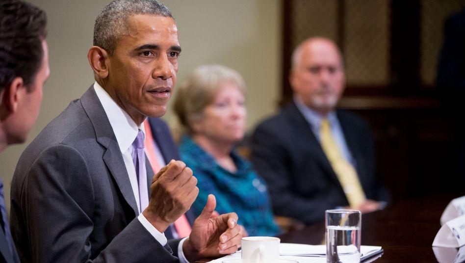 US-Präsident Obama: 10.000 syrische Flüchtlinge wollen die USA aufnehmen - im Haushaltsjahr 2016