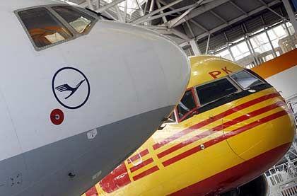 Lufthansa: Partnerschaft nicht nur mit DHL, sondern bald auch mit Tui