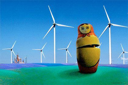 Vision: Erneuerbare Energien könnten in Russland eine stärkere Rolle spielen