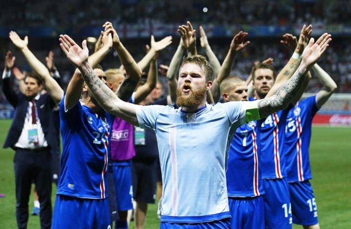 Sympatische Mannschaft (Island) - aber auch erfolgreich?