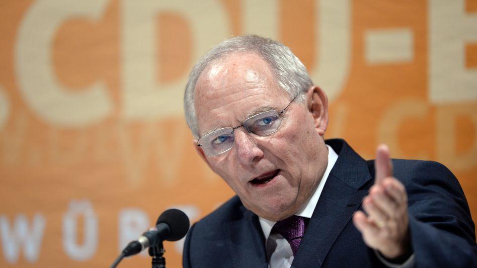 """Schäuble: Freizügigkeit als """"Quelle für Wohlstand und Wachstum"""""""