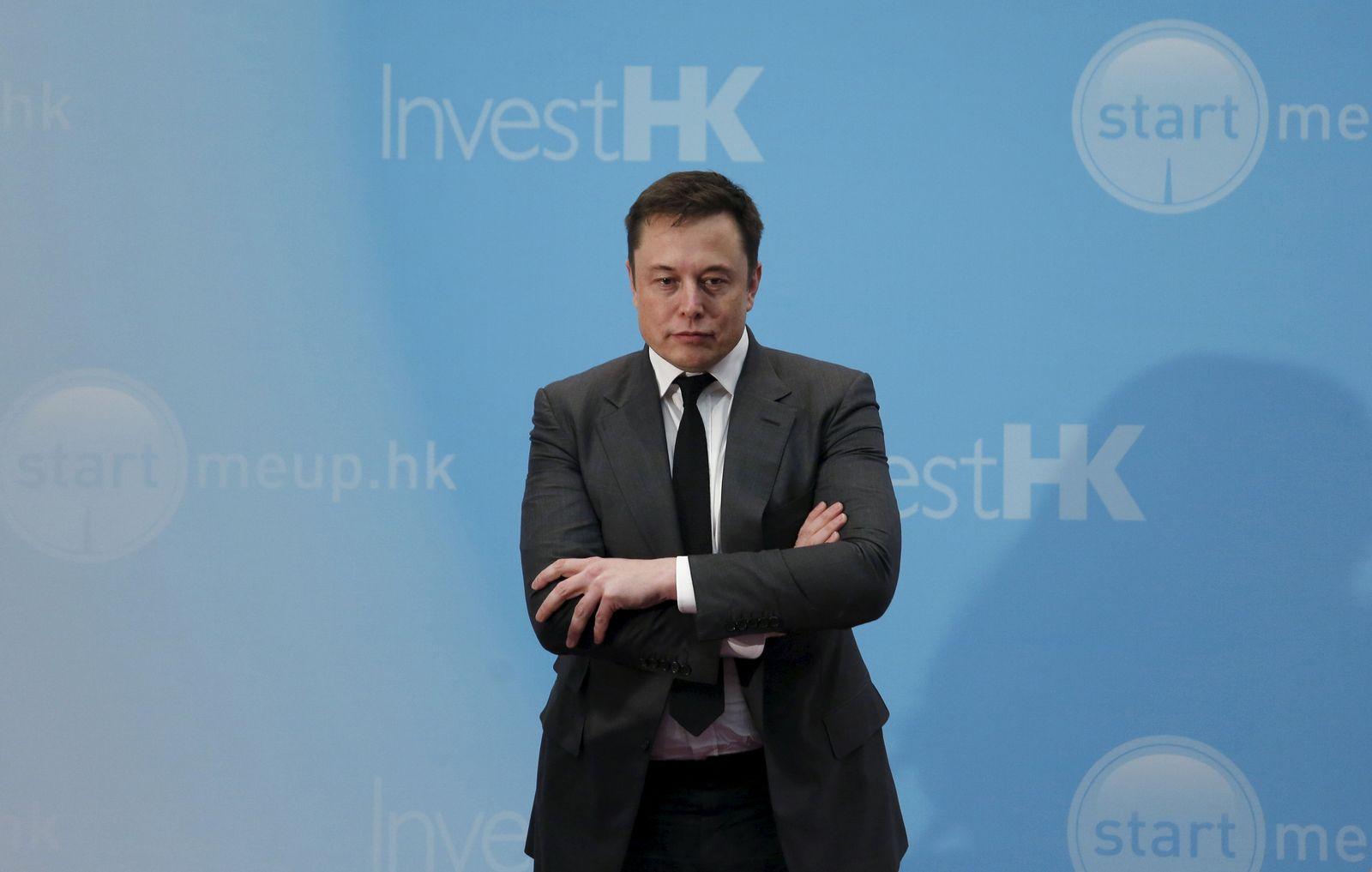 Elon Musk / Hong Kong