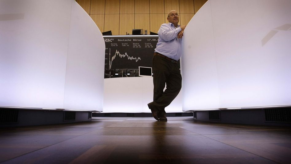 Börse in Frankfurt: Der Index kennt derzeit nur eine Richtung - nach oben