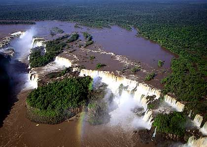 Cataratas: Wasserfälle im Unesco-Weltnaturerbe