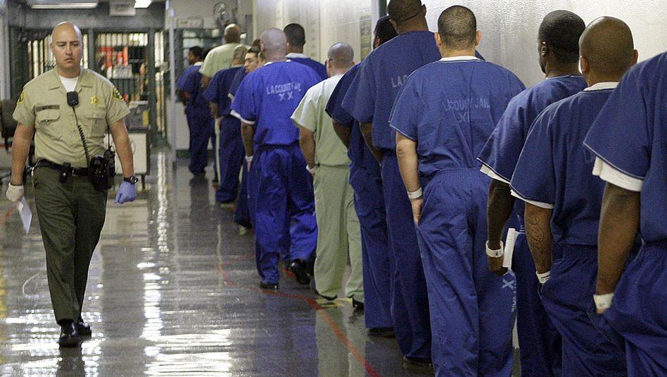 Mens Central Jail in Kalifornien (Archivbild): Haftbefehle sind nicht immer eindeutig