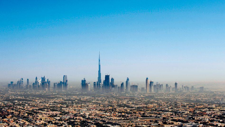 Bisheriger Rekordhalter: Der Burdsch Chalifa in Dubai