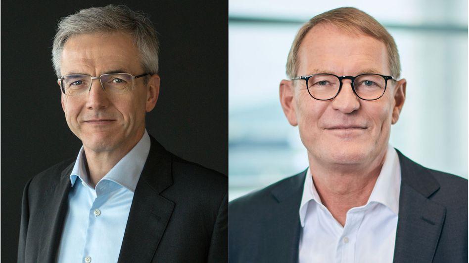 Neuer und alter Asien-Chef: Karl Deppen (l.) soll Hartmut Schick ablösen