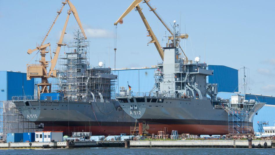 Ausgedreht: Die Finanzmittel der P+S-Werften sind erschöpft