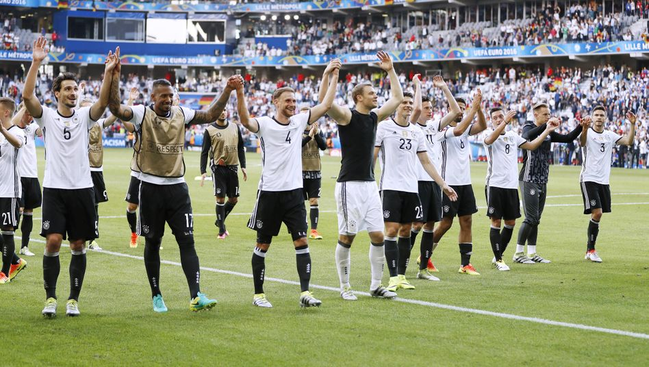 Viele Spieler auch der deutschen Nationalmannschaft haben Wurzeln, die nicht in Deutschland liegen