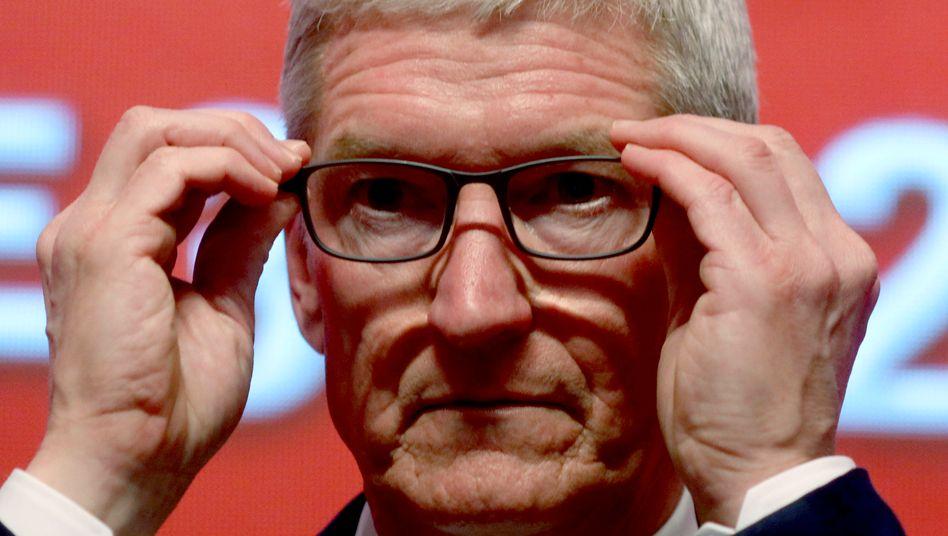 Apple-CEO Tim Cook (Archivbild vom März 2019)
