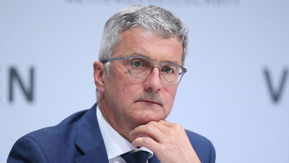 Rupert Stadler: Die Ermittler werfen dem Audi-Chef Betrug und mittelbare Falschbeurkundung vor
