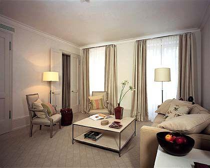 Nobles Wohnen: Ein weiteres Musterzimmer des Grand Hotels Heiligendamm