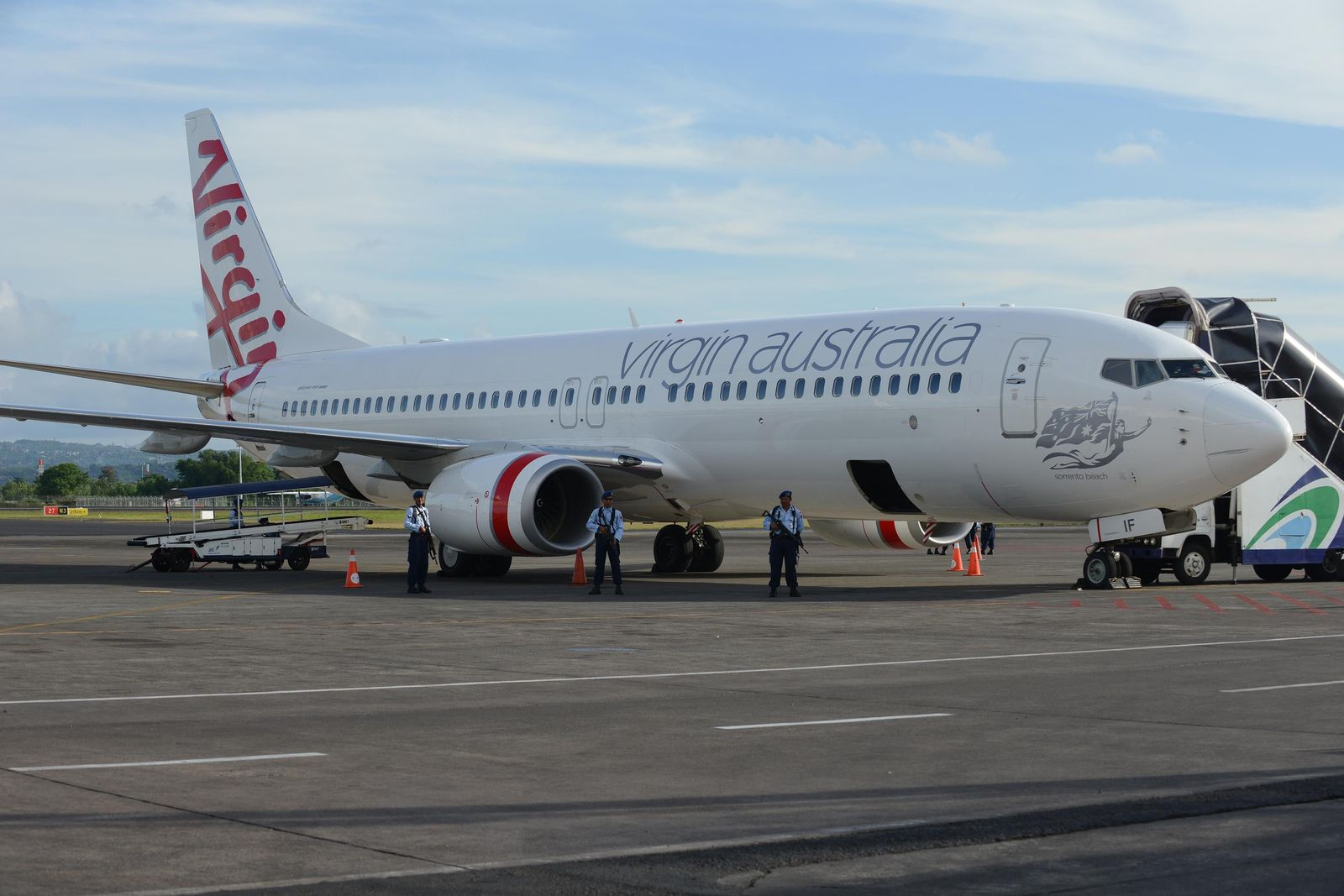Virgin Australia/ hijacking