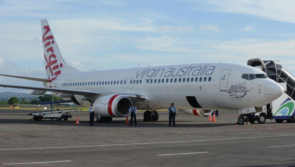 Virgin Australia: Die zweitgrößte australische Fluglinie gehört zu 10 Prozent dem britischen Milliardär Richard Branson