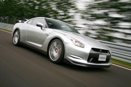 Sportlich: Der Nissan GT-R