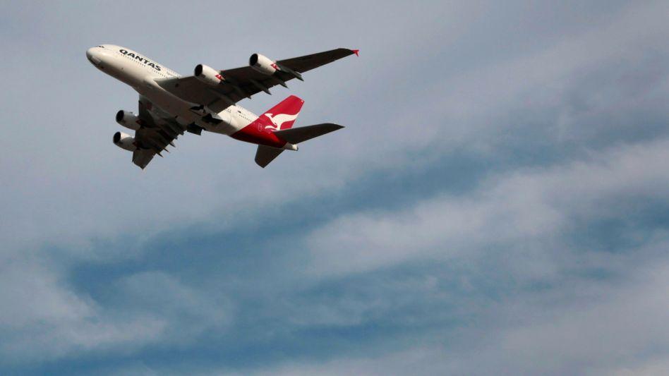 A380 von Qantas: Schon wieder Probleme mit dem Triebwerk