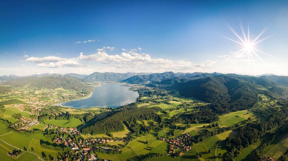 Sicherheitslage: Der Tegernsee, im Volksmund Lago di Bonzo, gilt Unternehmern und Spitzenwissenschaftlern als Zufluchtsstätte