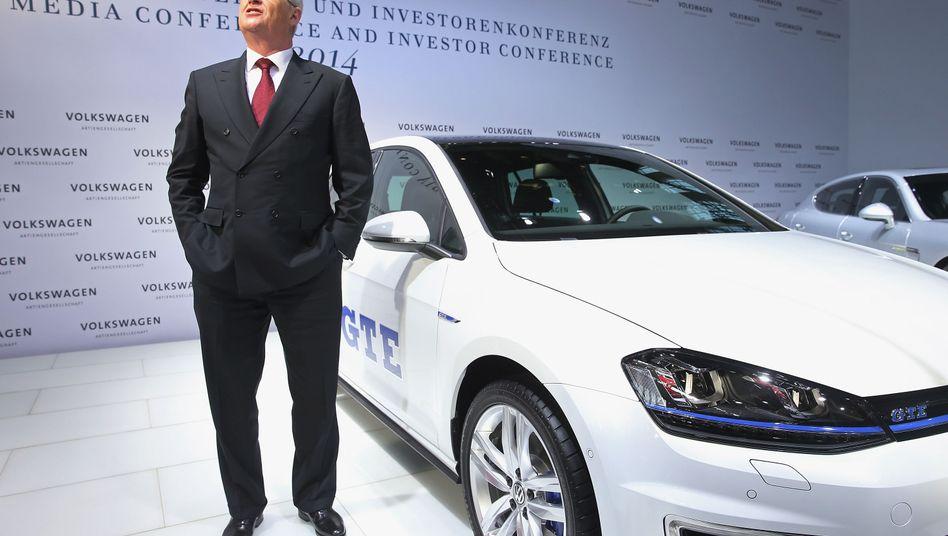 Antworten auf die Zukunftsfragen finden: Volkswagen-Konzern-Chef Winterkorn