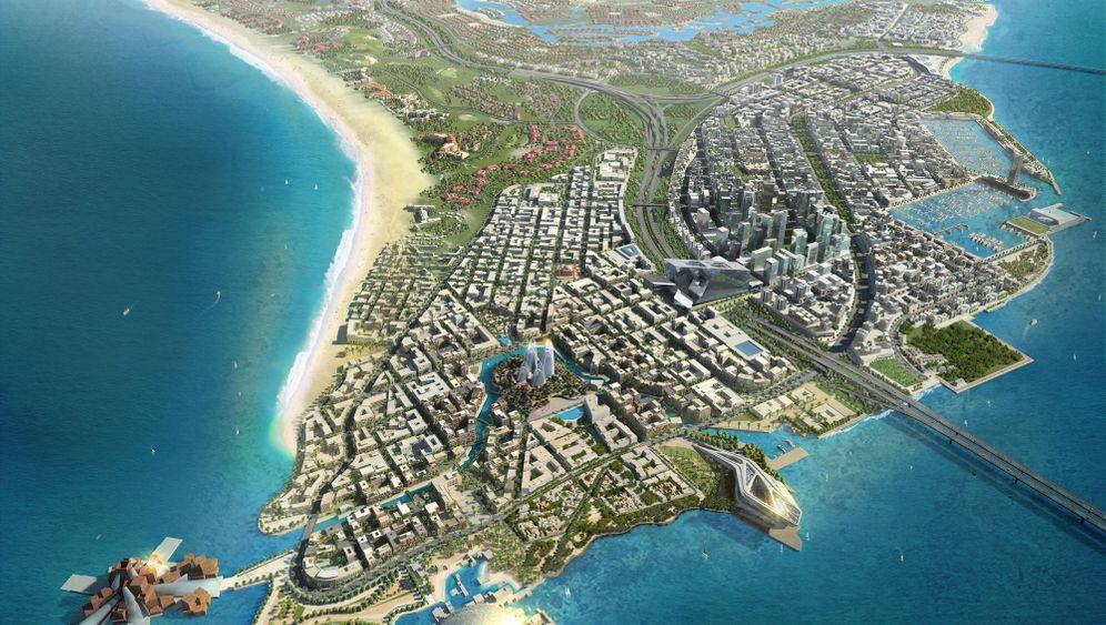 Abu Dhabi: Stararchitektur für die Museumsinsel
