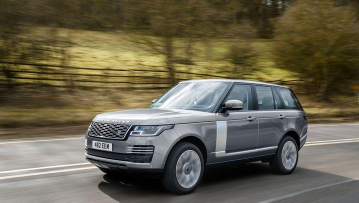 Fahrtest Range Rover Vogue P400: Enthaltsamer SUV-Koloss Vogue P400 im Schnelldurchlauf