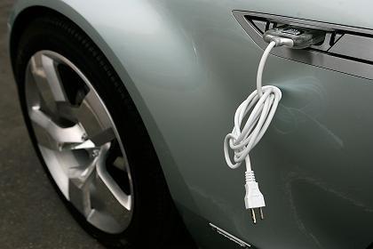 Ambitioniertes Projekt: Der Chevrolet Volt von General Motors soll 2010 den Massenmarkt erreichen