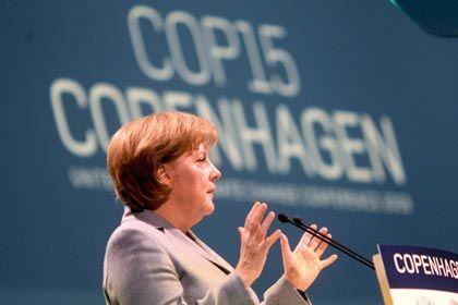 """Bundeskanzlerin Merkel auf dem Klimagipfel: """"""""Auf Kopenhagen muss jetzt aufgebaut werden"""""""