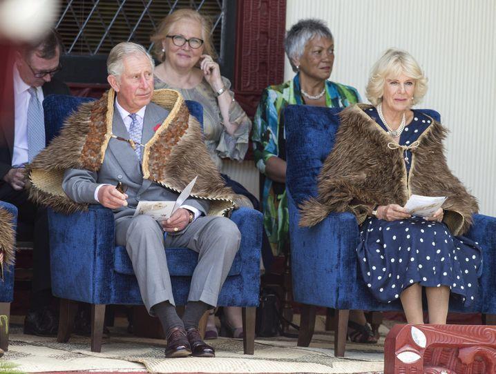 Prinz Charles zu Gast in Neuseeland