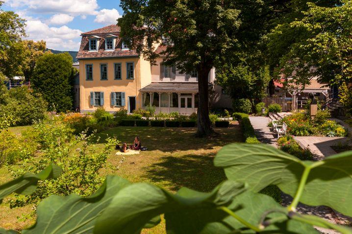 Schillers Gartenhaus in Jena ist heute ein Museum