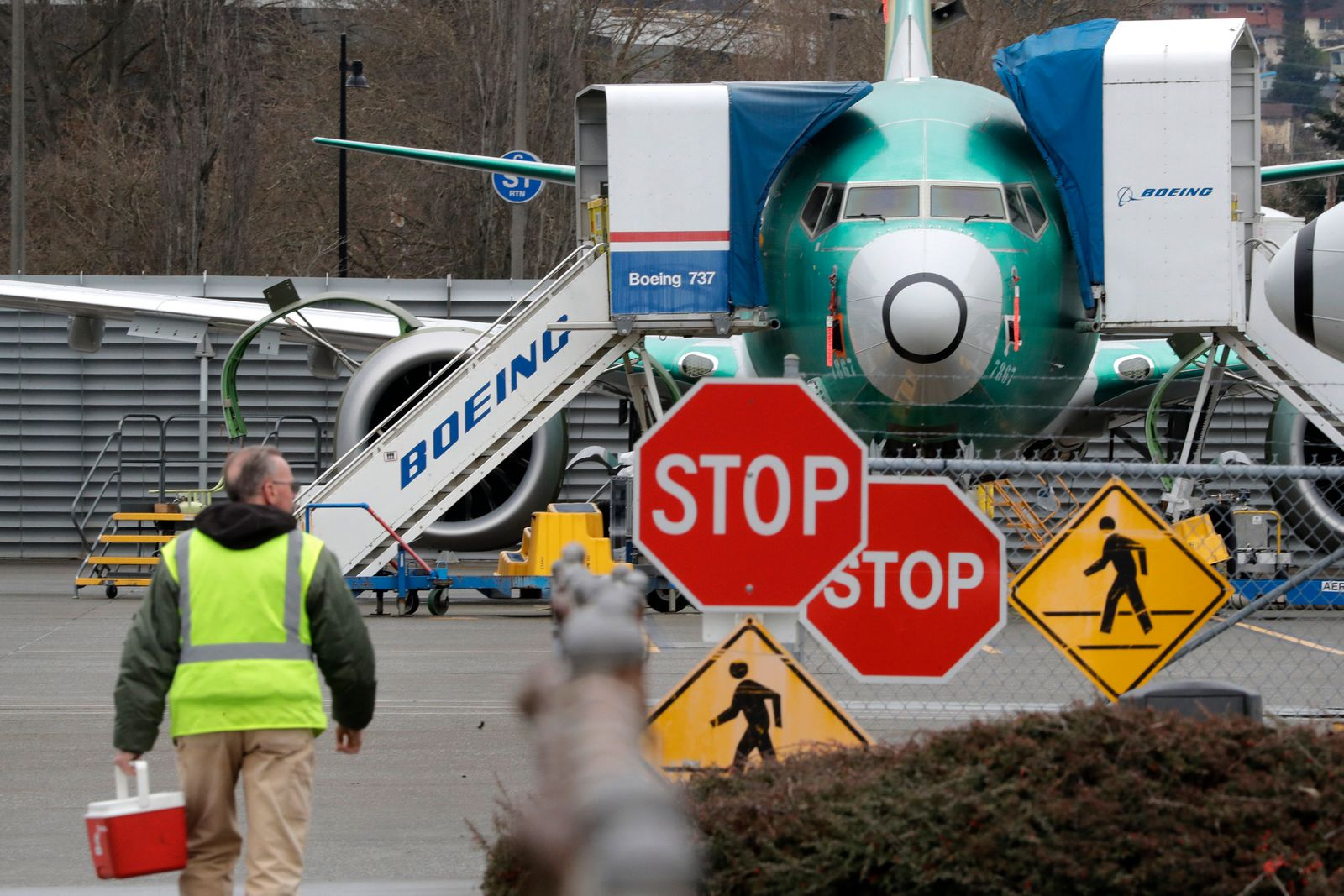 Boeing 737 Produktionsstop