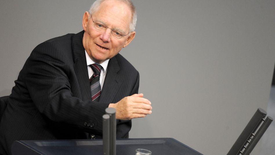 Finanzminister Schäuble: Ende der Krise in Sicht?