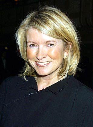 Kann mit ähnlicher Strafe rechnen wie Waksal: Martha Stewart, eine beliebte TV-Moderatorin und Unternehmerin ist gern gesehener Gast in den Klatschspalten