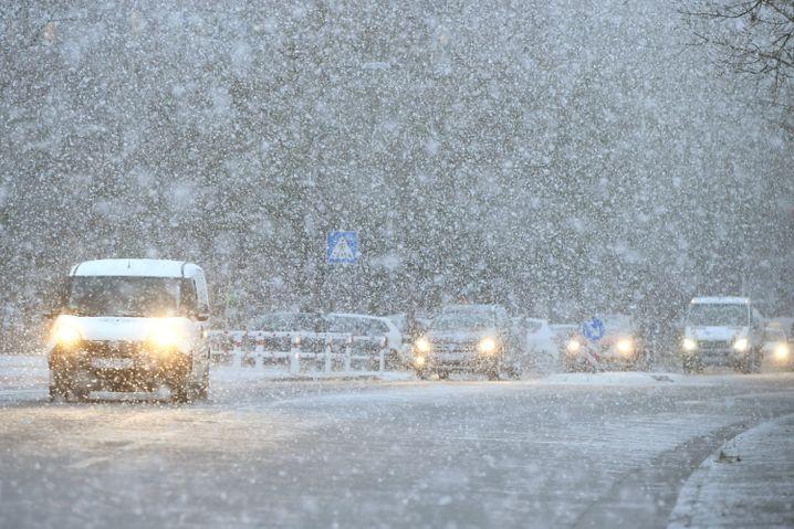 Dichter Schneefall: Für Menschen mühsam, für selbstfahrende Autos eine besonders harte Nuss