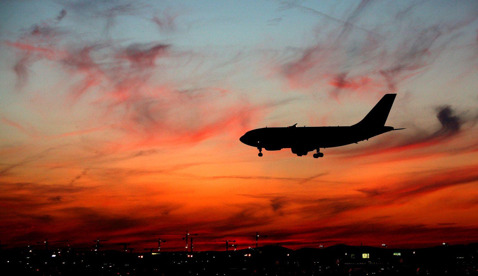 Flugzeug / Landung / pilotensprüche