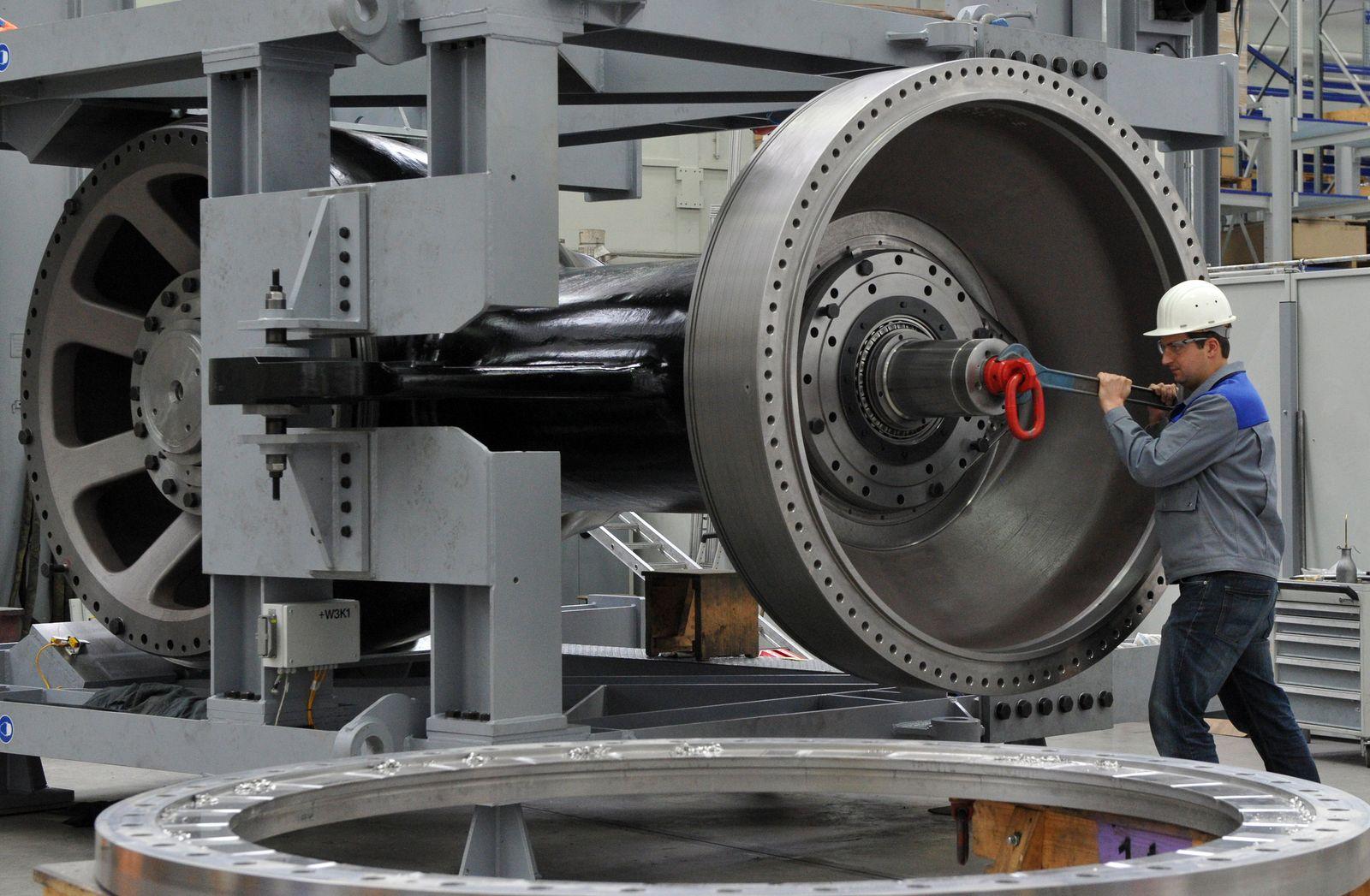 Erfolgreiche Mittelständler / china / Maschinenbau Voith
