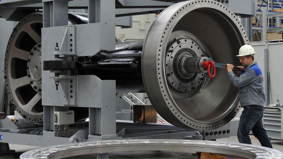 Rückgrat der deutschen Wirtschaft: Die Produktion im Maschinenbau wird nach Schätzungen des Branchenverbandes VDMA im Jahr 2017 wohl um 1 Prozent zulegen