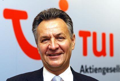Gute Zahlen, gute Laune: Tui-Chef Michael Frenzel