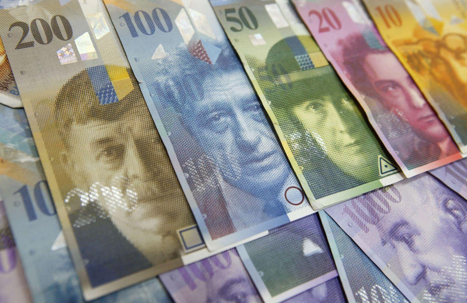 Schweizer Franken THEMEN