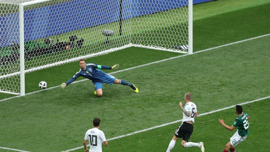 Deutschland verliert in der WM-Vorrunde gegen Mexiko