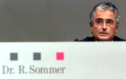 Ron Sommer bei der Telekom-HV am 28. Mai