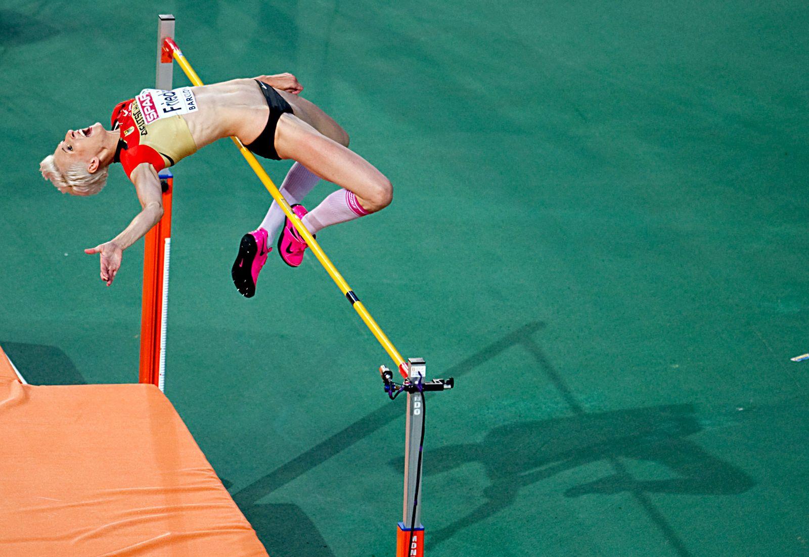 Leichtathletik EM - Hochsprung - Frauen
