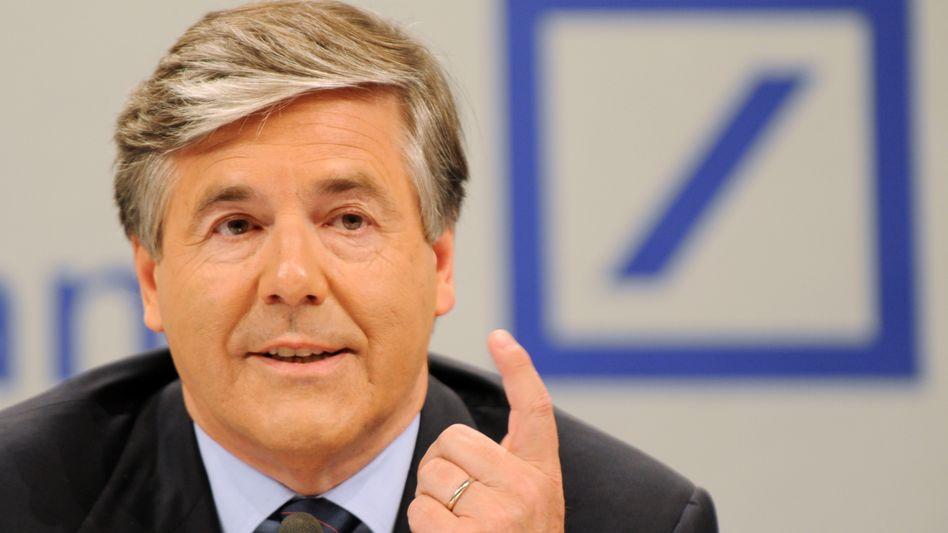 25-Prozent-Rendite im Blick: Deutsche-Bank-Chef Ackermann erfreut die Investoren