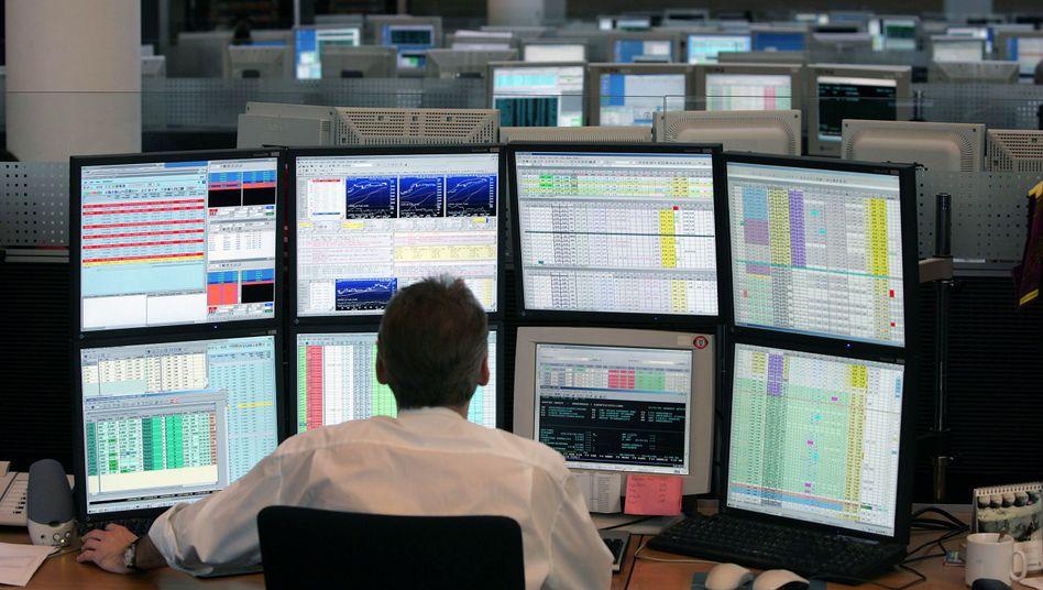 Blick nach oben: Anleger fassen wieder Mut