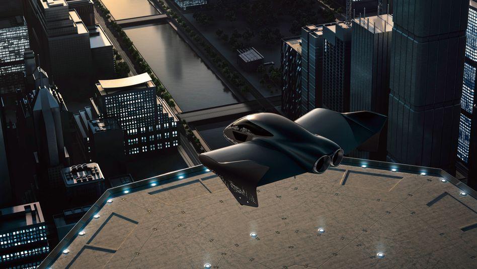 Porsche und Boeing wollen bei der Entwicklung von autonomen Flug-Geräten zusammenarbeiten