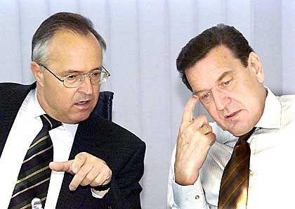 Stärkung der Finanzmärkte und des Anlegerschutzes: Finanzminister Eichel