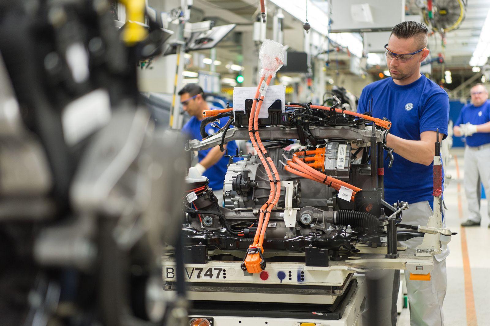Volkswagen-Produktion / Werk / VW
