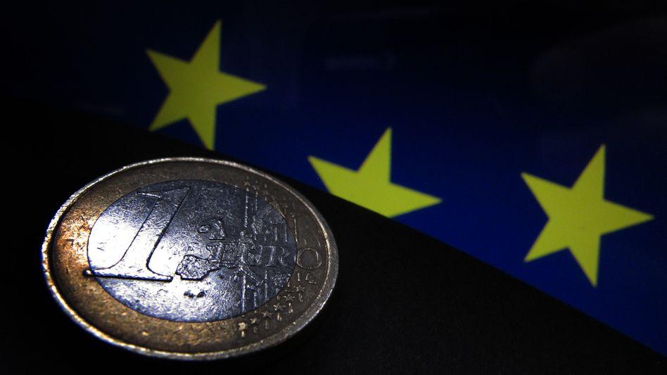 Der Euro in der Krise: Symbol des Jahres 2012