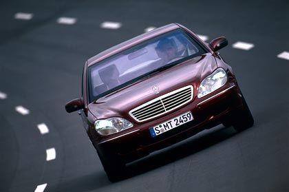 """Sonderschutzfahrzeug """"Guard Line"""": Mercedes S-Klasse mit Sicherheitsausstattung"""