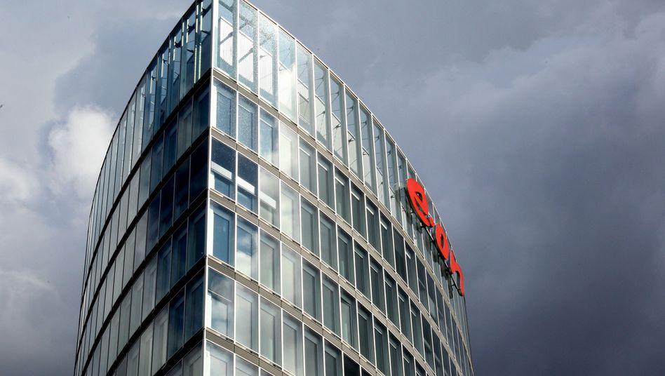 Eon-Zentrale in Essen: Noch vier Stufen über dem Ramsch-Bereich